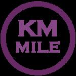 Km in Meilen